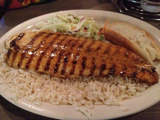Бяла риба с ориз