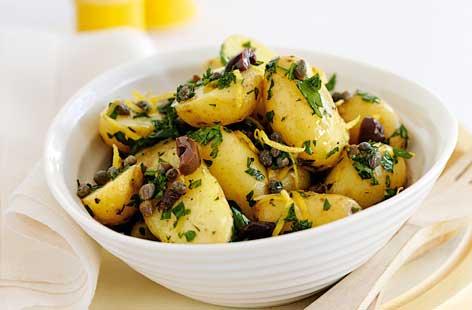 Салата от херинга с картофи