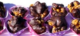 Орехови бонбони с какао