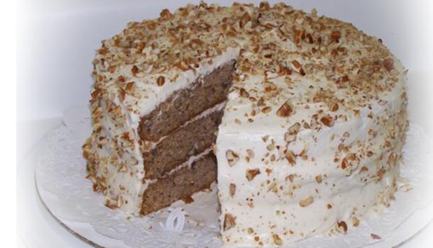 Торта с орехов крем