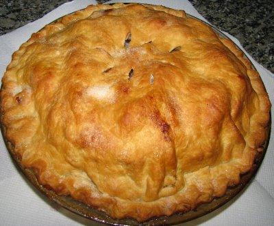 Пирог с ябълки