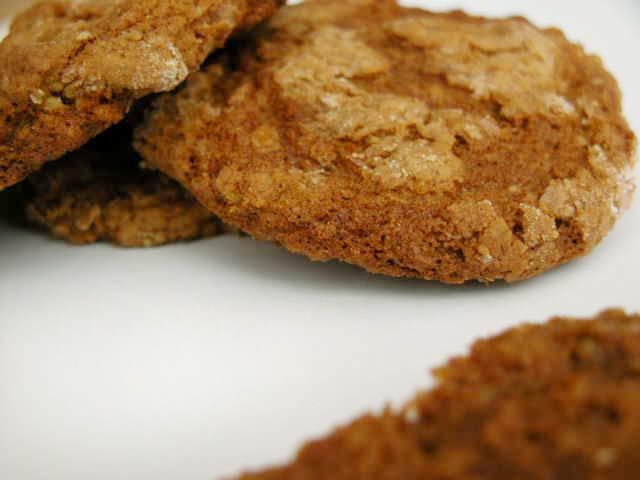 Бисквити с орехови ядки