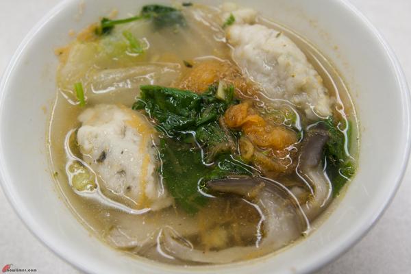 Супа от гъби и риба