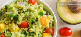 Гуакамоле с киноа и авокадо